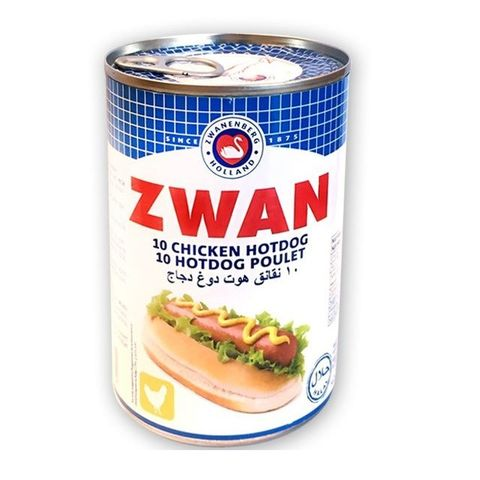 Zwan Hot Dog Pure Chicken 200g