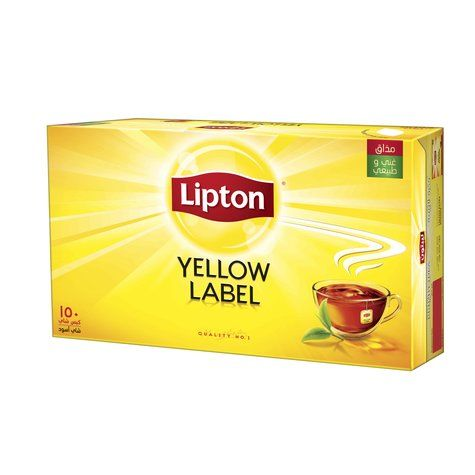 Lipton Yellow Label Tea Bags 150gm