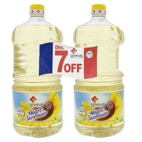 Lesieur Canola Oil 3 Litre pack of 2