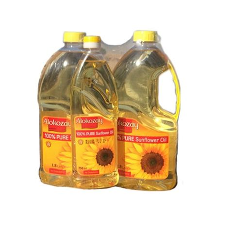 Alokozay Sunflower Oil 1.8 L+750ml Free