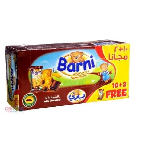 Barni With Chocolate & Milk 12*30g