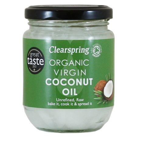 Clearspring Ogranic Virgin Coconut Oil 200gm