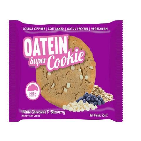 Oatein Super Cookie White Chocolate 75g