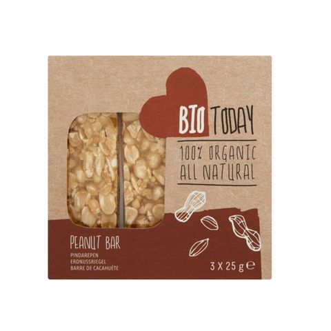 BioToday Organic Peanut Bar 25g
