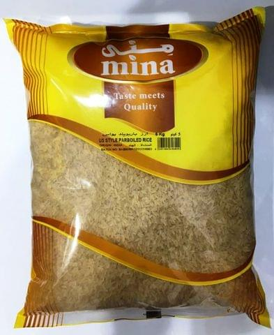 Mina US Style Parboiled Rice 5kg