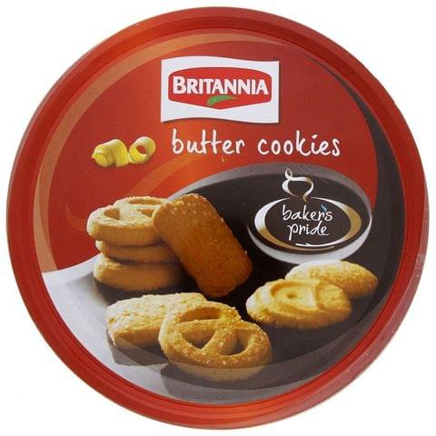 Bakers Pride Danish Cookies Tin 400g