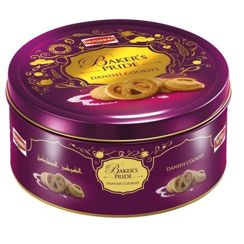 Bakers Pride  400g Danish Cookies Tin