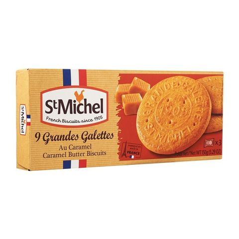 St Michel 9 Grandes Carame Butter Biscuits 150g