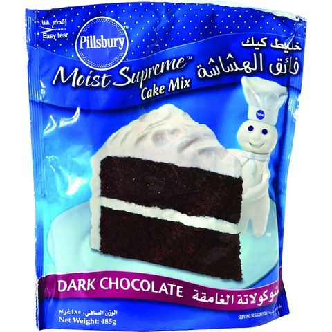 Pillsbury Dark Chocolate Cake Mix 485gm