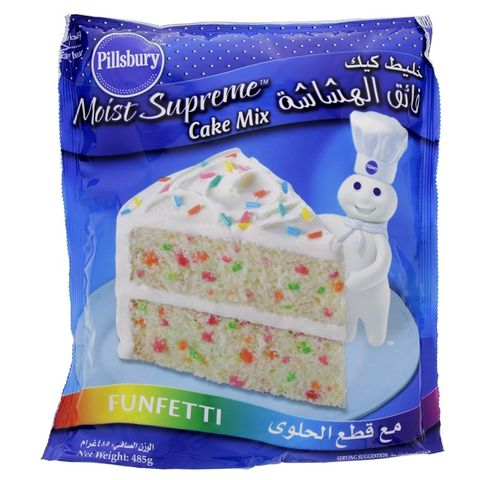 Pillsbury Funfetti Cake Mix 485gm