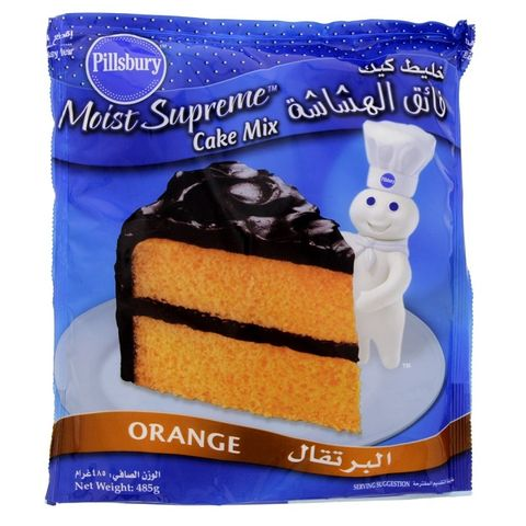 Pillsbury Orange Cake Mix 485gm