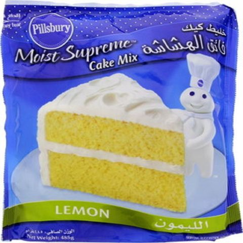Pillsbury Lemon Cake Mix 485gm