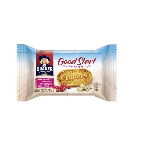 Quaker Good Start Biscuit Cranberry 45gm