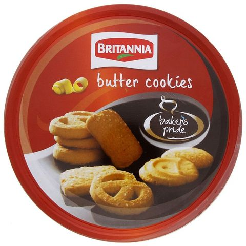 Bakers Pride Butter Cookies Tin 400gm