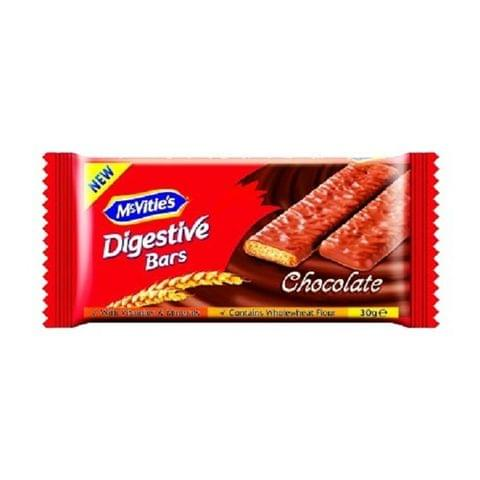 Mcvitie's  Digestive Bars Chocolate 24x30gm