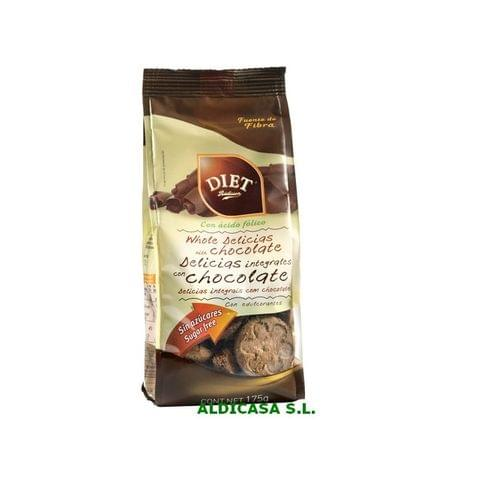 Diet Sugar Free Chocolate Biscuits 175g