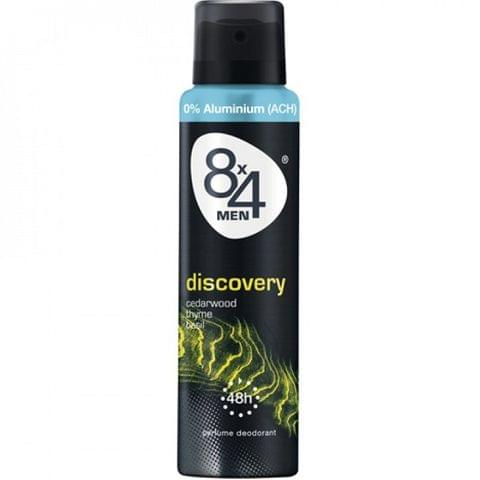 8X4 Deo Spray-Discovery For Men 150ml