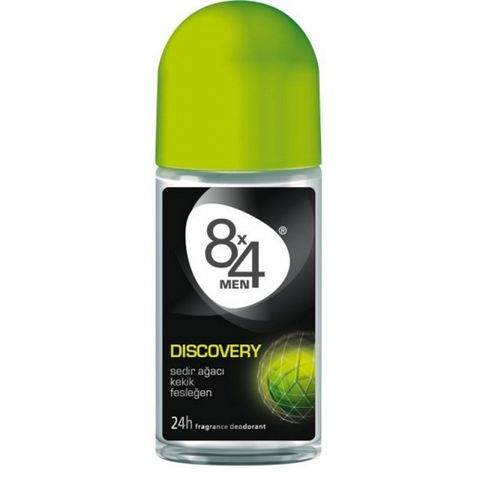 8X4 Deo Roll-On Discovery For Men 50ml