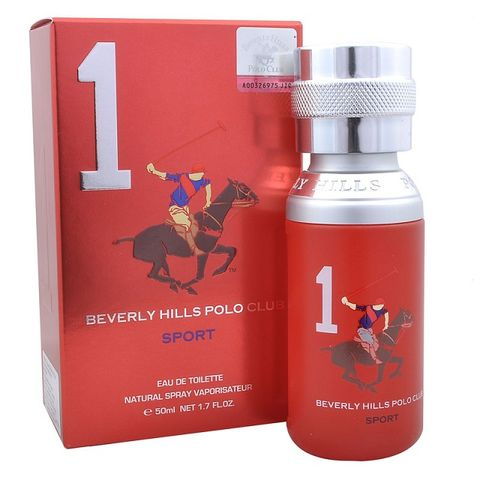 Beverly Hills Polo Club Men Sports One Edt 50ml