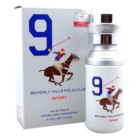 Beverly Hills Polo Club Men Sports Nine Edt 50ml