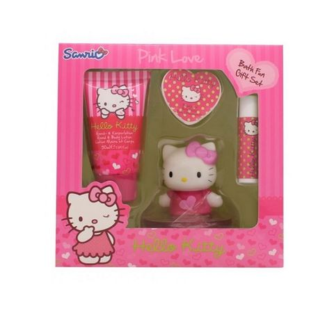 Sanrio Pink Love Bath Fun Gift Set