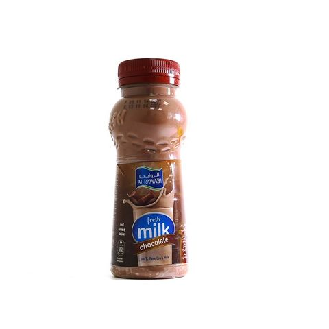 Al Rawabi Uht Chocolate 200ml Pack Of : 3x6x200ml