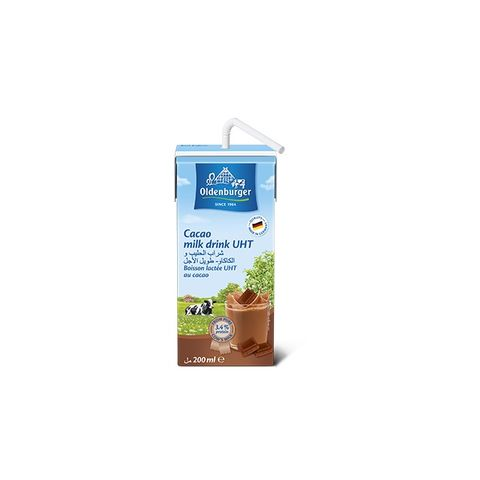 Oldenburger Uht Flavored Milk (Cacao)200ml