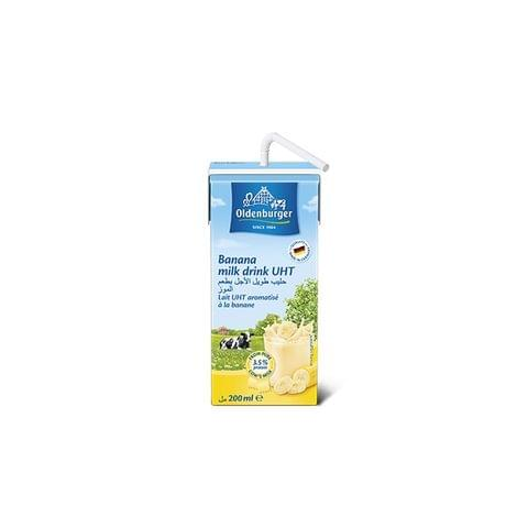 Oldenburger Uht Flavored Milk(Banana)200ml