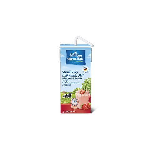 Oldenburger Strawberry Milk 12x200ml