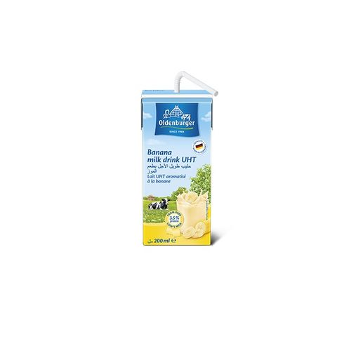 Oldenburger Banana Milk 12x200ml