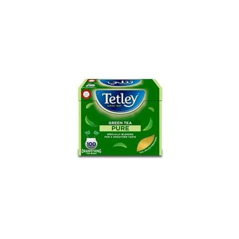 Tetley Green Tea 100's Bag