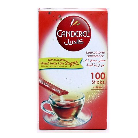 Canderel Ganderel Red Sticks 100s