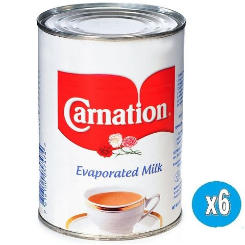 Carnation  Evaporated Milk 6x410gm