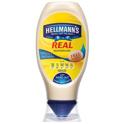 Hellmann's Real Mayo(Full Fat)Squeezy