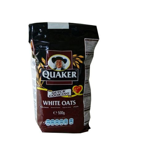 Quaker Oats Foil Bags 500gm