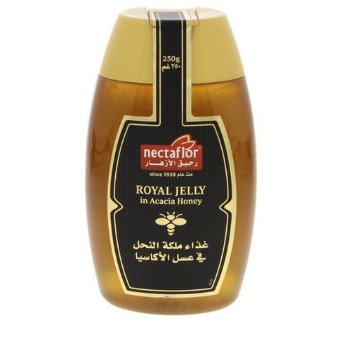 Nectaflor Royal Jelly In Acacia Honey 12 x 250gm