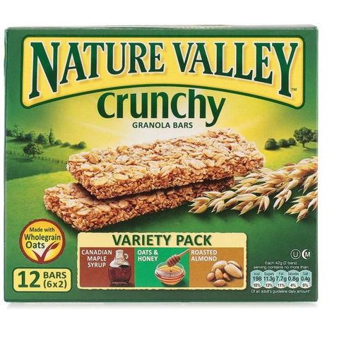 Nature Valley 42g granola Bars Variety Pack