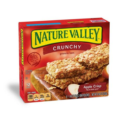 Nature Valley 42g granola Bars Apple Crunchy