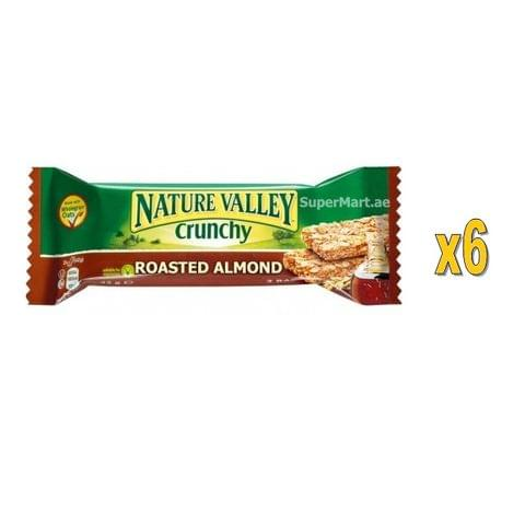 Nature Valley 6x42g granola Bars Roasted Almond