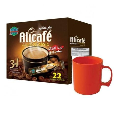 Alicafe 3in 1 22x2box +Free Mug