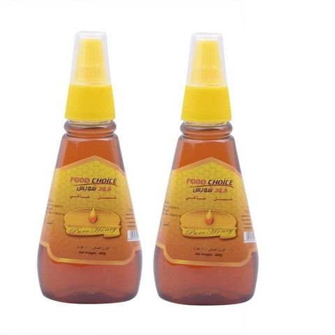 Food Choice Honey Squeeze Plastic Bottle 2x400gm