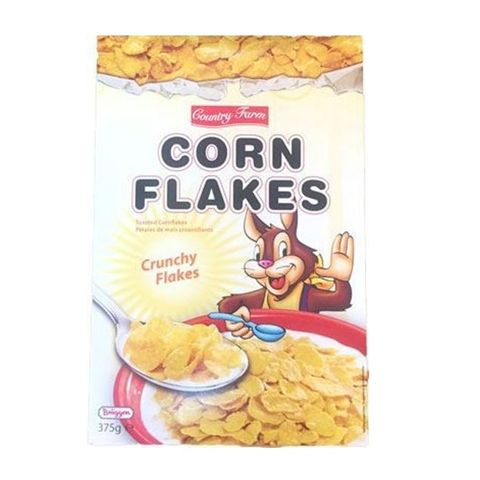 Country Farm Corn Flaks Pack of 1x(16x375gm).