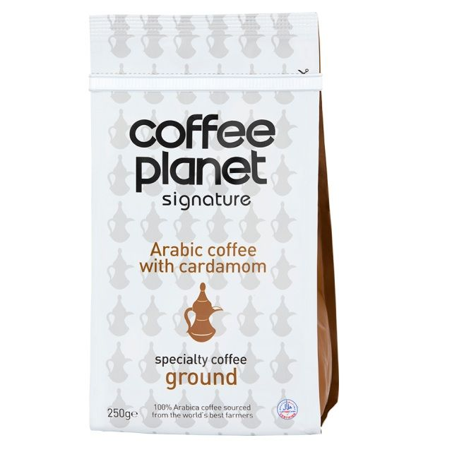 Coffee Planet Arabic With Cardamom Coffee Ground 250g