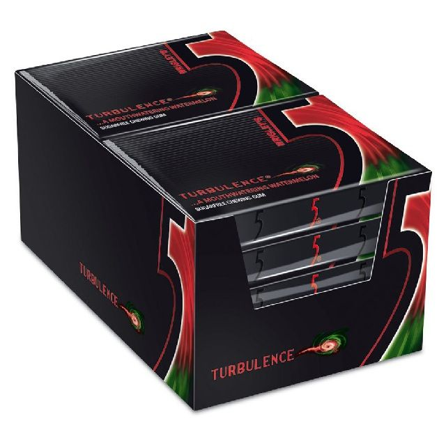 Wrigley 5 Turbulence Watermelon 10x31.2gm