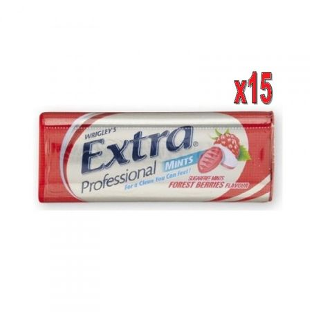 Wrigley Extra Professional Forest Berry 15x20g