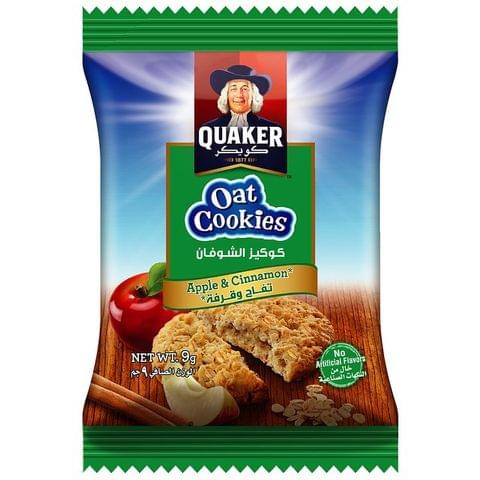 Quaker Oats Cookies Apple & Cinnamon 9g