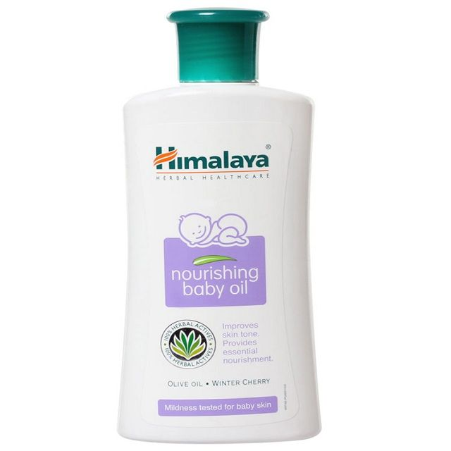 Himalaya Nourishing Baby Oil With Pump 200g