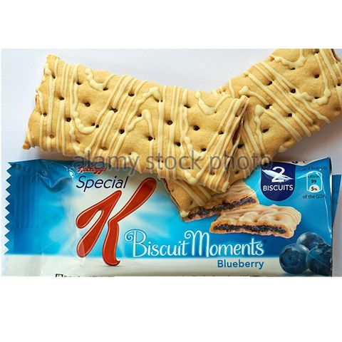 Kellogg's Biscuit Moments Blueberry25g
