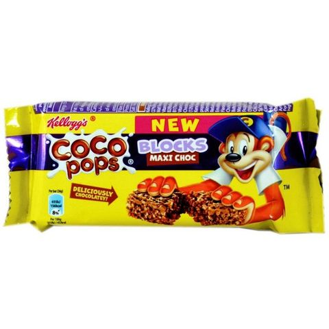 Kellogg's Coco Pops Blocks 4x36gm
