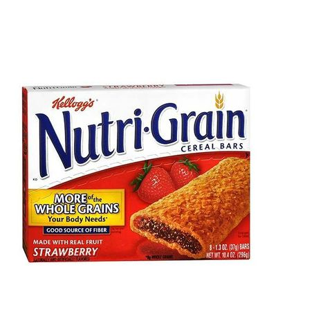 Kellogg's Nutrigrain Bar Strawberry-Gbr 6sx37g